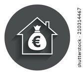 mortgage sign icon. real estate ...