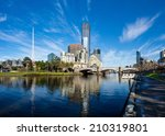 The Yarra River And Southbank...