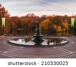 Fall At Bethesda Fountain In...