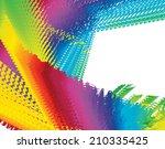 abstract spectrum background... | Shutterstock . vector #210335425