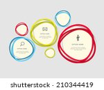 infographic templates for... | Shutterstock .eps vector #210344419