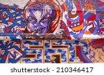 singapore   july 24  graffiti... | Shutterstock . vector #210346417
