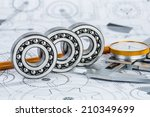technical drawings with the... | Shutterstock . vector #210349699