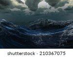 Digitally Generated Stormy Sea...