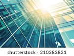 panoramic and perspective wide... | Shutterstock . vector #210383821