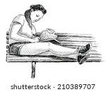 student   Shutterstock . vector #210389707