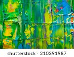 abstract art background. hand... | Shutterstock . vector #210391987