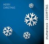 modern simple minimalistic... | Shutterstock .eps vector #210397561