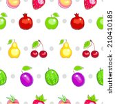 seamless pattern with colorful... | Shutterstock .eps vector #210410185