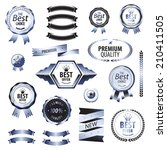 luxury premium quality best... | Shutterstock .eps vector #210411505