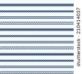 seamless pattern with nautical...   Shutterstock .eps vector #210414037