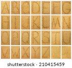 Handwritten Alphabet Letters O...