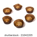 caramel sweets with sunflower... | Shutterstock . vector #21042205
