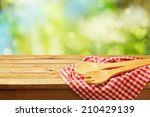Cooking Outdoor Background Wit...