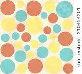 vector fabric texture  pattern... | Shutterstock .eps vector #210454201