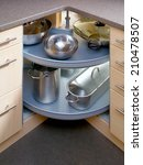 Stock photo detail of cupboard in the corner 210478507