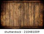wood background  | Shutterstock . vector #210481009