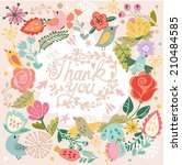 "beautiful greeting card ""thank... 