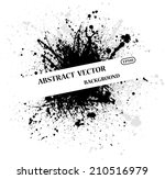 abstract ink blots background... | Shutterstock .eps vector #210516979