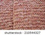 knitted background | Shutterstock . vector #210544327