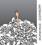 cartoon illustration of... | Shutterstock .eps vector #210548299