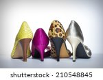 High Heels In A Variety Of...