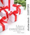 christmas card | Shutterstock . vector #21057295