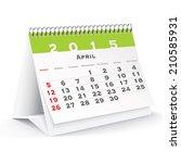 April 2015 Desk Calendar  ...