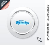taxi car sign icon. sedan...