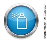 spray button   Shutterstock .eps vector #210639967