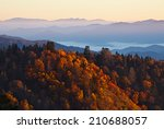 Sunrise At Smoky Mountains....
