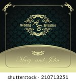 wedding invitation. seamless... | Shutterstock .eps vector #210713251