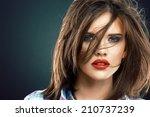 Woman Face Close Up Beauty...