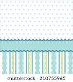 seamless pattern  wallpaper | Shutterstock .eps vector #210755965