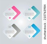infographics template for...   Shutterstock .eps vector #210763984