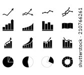 chart_icons_set | Shutterstock .eps vector #210766261