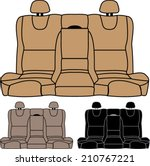 Car seat free vector art 2922 free downloads back seat vector isolated malvernweather Images