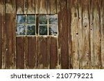 Old Antique Barn With Double...