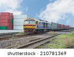 Freight Trains On  Cargo...