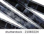 old grunge negative films... | Shutterstock . vector #21083224