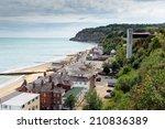 shanklin isle of wight england... | Shutterstock . vector #210836389