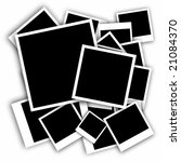 new photo frames isolated | Shutterstock . vector #21084370