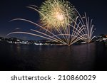 Fireworks On The Lakefront Of...