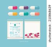 Colourful Pills And Ziplock...