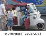 paris france     august 17 ... | Shutterstock . vector #210872785