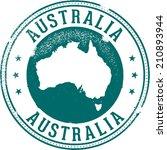 vintage australia country... | Shutterstock .eps vector #210893944