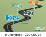 timeline infographic template...   Shutterstock .eps vector #210920719