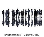 group of business people | Shutterstock . vector #210960487