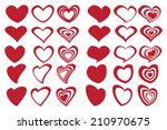 vector illustration of fancy... | Shutterstock .eps vector #210970675