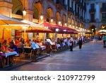 Street Restaurants At Placa...